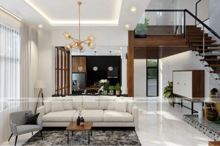 Nội thất biệt thự vườn 2 tầng đẹp, hiện đại, đẳng cấp tại Đồng Nai