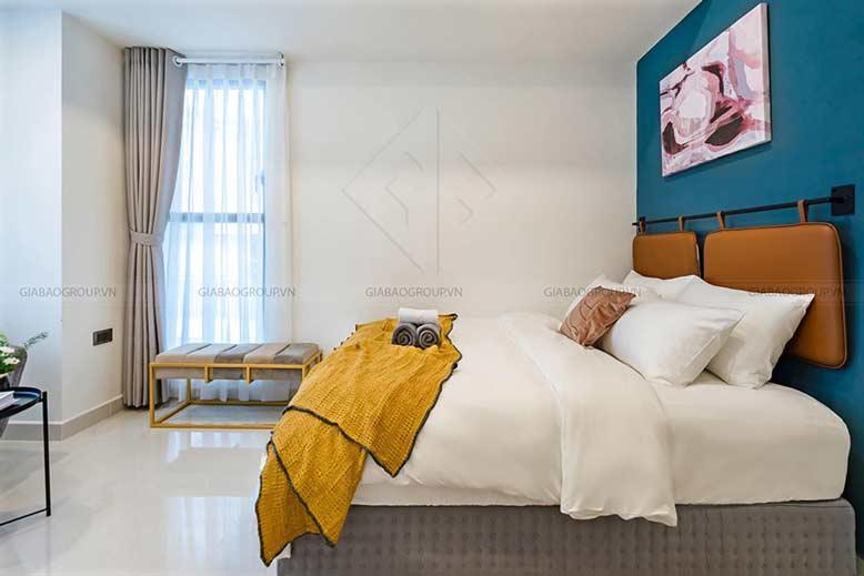 Thiết kế nội thất căn hộ 1 phòng ngủ sáng tạo, độc đáo tại Saigon Royal, quận 4