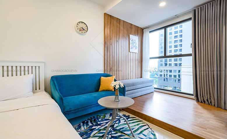 Thiết kế nội thất phòng ngủ chung cư gold view