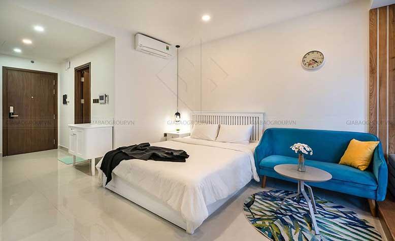 Thiết kế nội thất phòng ngủ chung cư glod view quận 4