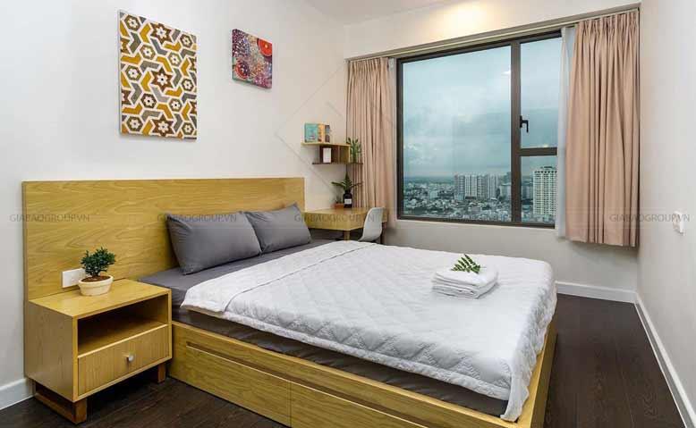 Thiết kế nội thất căn hộ chung cư phòng ngủ