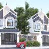 Nhà phố mái Thái đẹp, thiết kế tân cổ điển sang trọng, thanh thoát