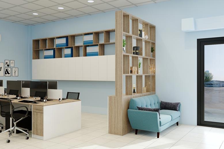 Ánh sáng là yếu tố quan trọng trong thiết kế nội thất văn phòng đẹp