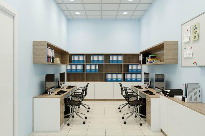 nội thất văn phòng đẹp 8