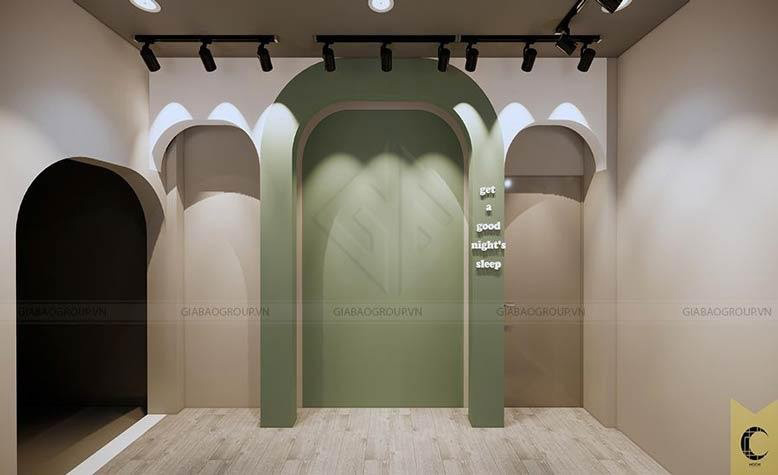 Thiết kế nội thất đẹp với gam màu nhẹ, ấm áp
