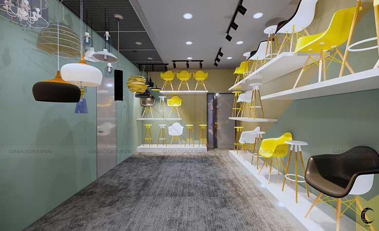 Thiết kế nội thất đẹp, hiện đại cho nhà phố thương mại Shophouse