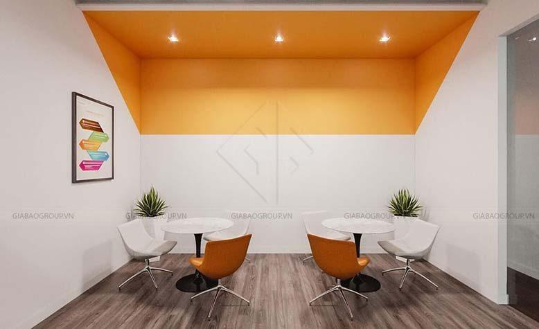 Thiết kế nội thất văn phòng chứng khoán cho khu vực tư vấn khách hàng