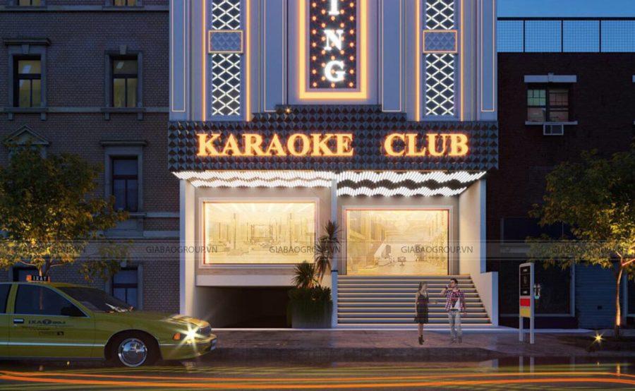 Thiết Kế Quán Karaoke Quảng Ngãi KR01