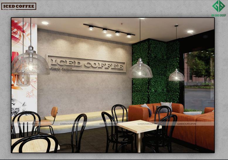 Thiết kế chuỗi Cafe Iced Coffee
