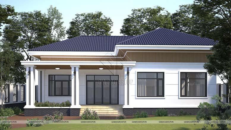 Ấn tượng với biệt thự nhà vườn mái Thái