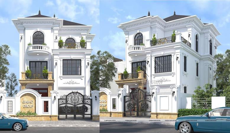 Tổng hợp 50+ mẫu biệt thự tân cổ điển đẹp và có tính thẩm mỹ cao
