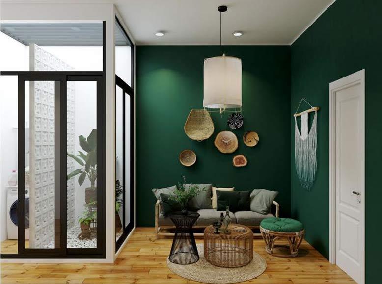 Gam màu thời thượng, hiện đại, bắt kịp xu hướng hàng đầu trong lĩnh vực kiến trúc nội thất 3D