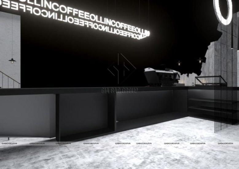 Phong cách thiết kế quán cafe siêu chất mang hơi thở của một thiết kế theo hướng công nghiệp