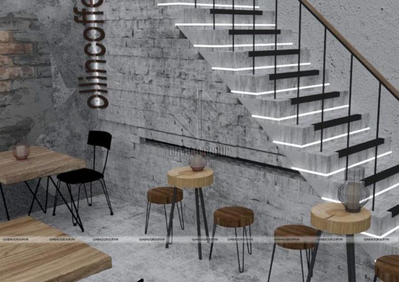 Phong cách thiết kế quán cafe chất lừ