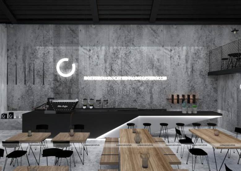 Nội thất quán cafe đẹp thu hút sự chú ý của khách hàng