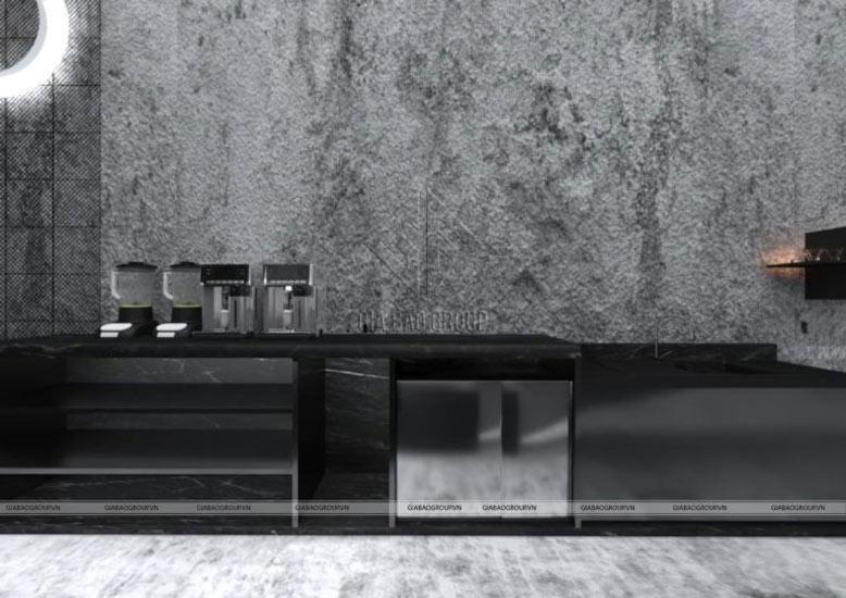 Tầng lửng quán cà phê siêu chất