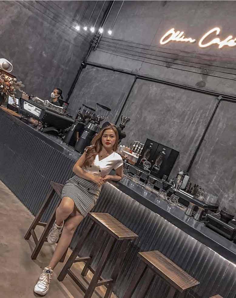 Một số góc chụp cực chất với công trình thi công nội thất trọn gói quán cafe Ollin