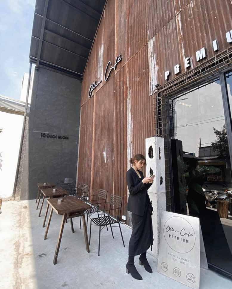 Phong cách đậm chất cùng những khách hàng của Cafe Ollin với bộ sưu tập thi công nội thất trọn gói