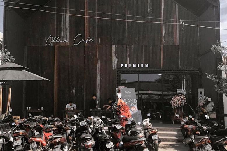 Thiết kế và thi công nội thất trọn gói quán cà phê Ollin
