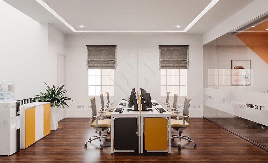 Thiết kế văn phòng năng động, cá tính và trẻ trung
