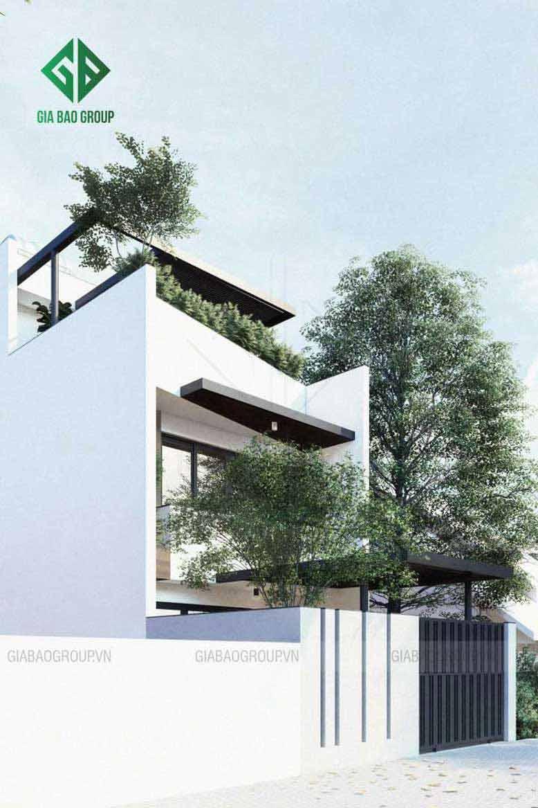 Mẫu nhà phố hiện đại 2020 với kiến trúc hiện đại, tinh tế và không kém phần sang trọng