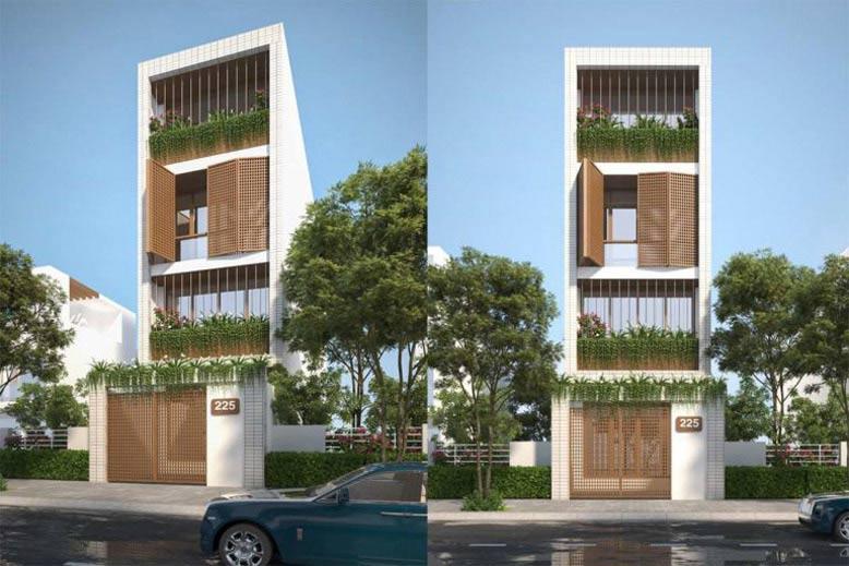 Kiệt tác thiết kế kiến trúc nhà phố hiện đại, độc đáo và mới lạ
