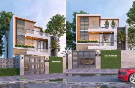 Thiết kế nhà phố 3 tầng đẹp sang trọng- phong cách hiện đại