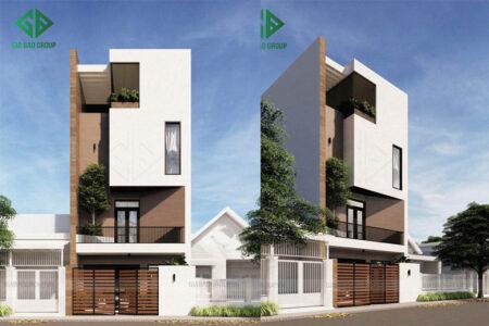 Mẫu thiết kế nhà phố 1 trệt 3 lầu hiện đại – Chị Nhị, Quận 9, TP. HCM