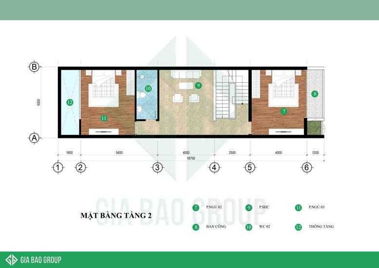 Tối ưu hóa không gian nhà phố tầng 3 tầng đẹp mang lại sự tiện nghi