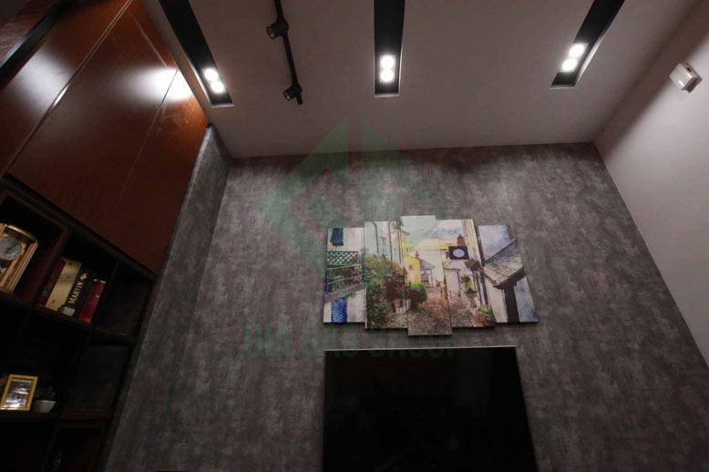 Hình ảnh thi công thực tế tại công trình xây dựng nhà phố 3 tầng hiện đại
