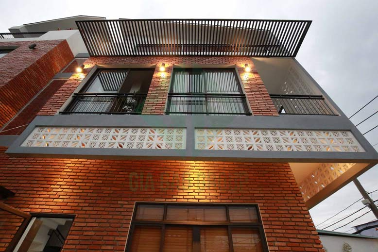 Hình ảnh thực tế tại công trình xây dựng nhà phố 3 tầng hiện đại