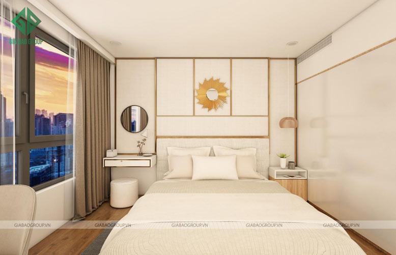 Thiết kế căn hộ 2 phòng ngủ hướng view ngắm cảnh