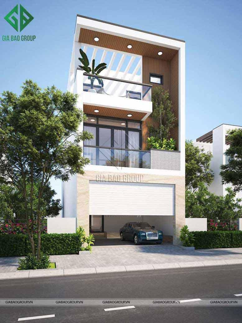 Hướng nhà trong thiết kế nhà phố 6m x 15m được xây dựng đảm bảo về yếu tố phong thủy tối ưu