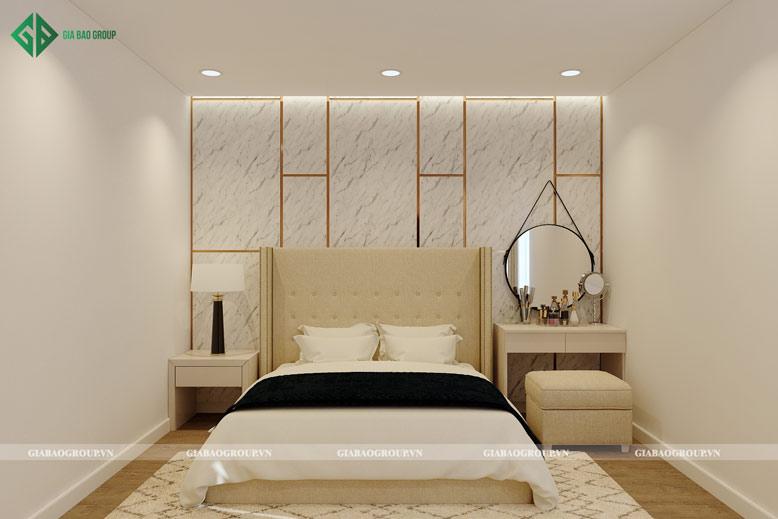 Thiết kế phòng ngủ nhà 2 tầng đẹp tinh tế