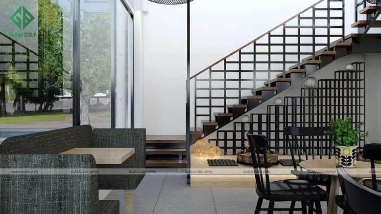 Thiết kế quán cafe đẹp và có không gian ấm áp