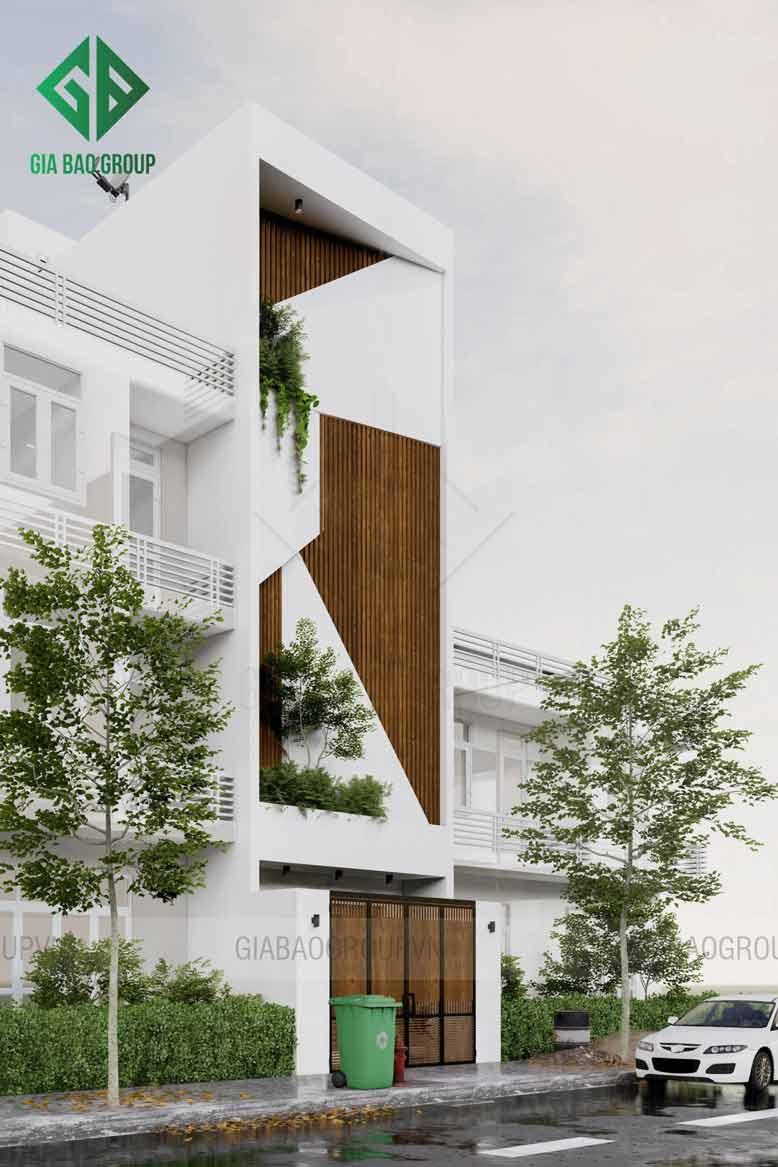 Phong cách sang trọng của mẫu nhà phố 1 trệt 3 lầu