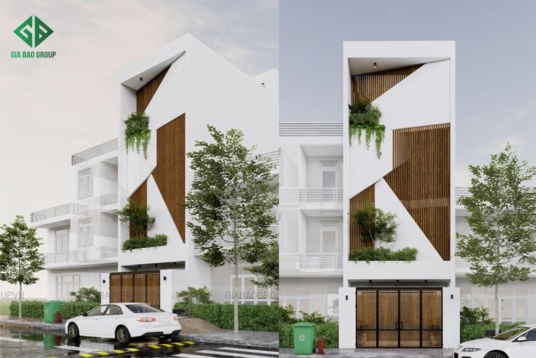Mẫu nhà phố 1 trệt 3 lầu đẹp – Anh Phú Quý, Mã NP132