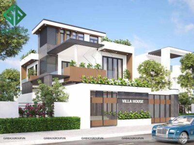 Chiêm ngưỡng thiết kế nhà biệt thự phố đẹp sang trọng, xuất sắc