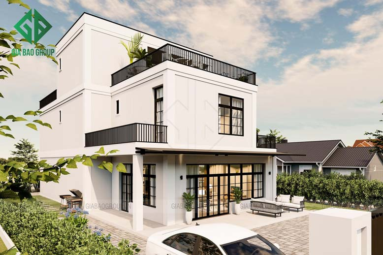 Nhìn ngắm những mẫu thiết kế biệt thự nhà vườn 3 tầng hiện đại được yêu thích nhất năm 2020