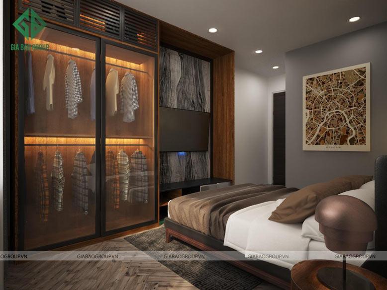 Thiết kế thi công căn hộ Q12 tận dụng tối đa không gian