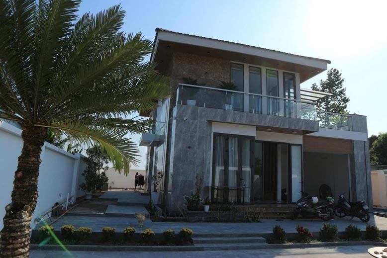 Thi công trọn gói biệt thự vườn hiện đại, sang trọng của anh Lâm, Đồng Nai
