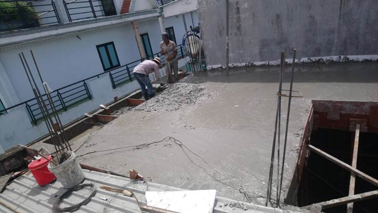 Dần hoàn thiện công trình thi công trọn gói nhà phố diện tích nhỏ