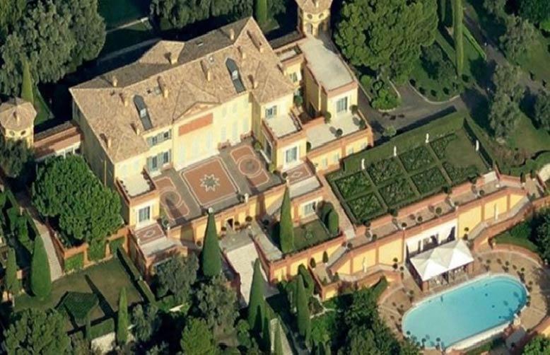 Là một trong 5 biệt thự đẹp nhất thế giới bởi sự nguy nga.