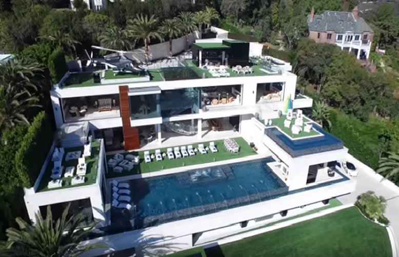 Biệt thự đẹp nhất thế giới tại Los Angeles
