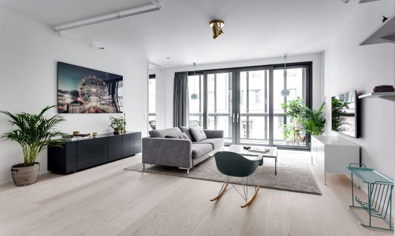 Thiết kế nội thất nhà ở phong cách Bắc Âu