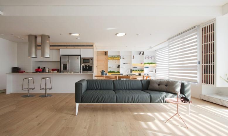Thiết kế nội thất nhà ở phong cách tối giản