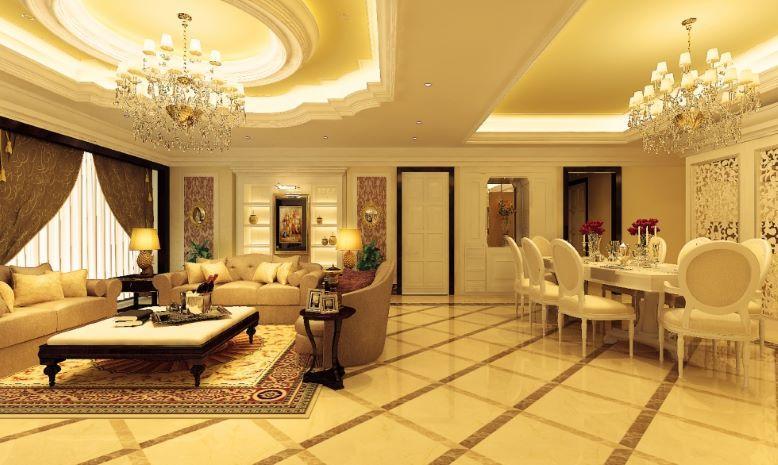 Thiết kế nội thất nhà ở phong cách cổ điển thể hiện sự quyền quý