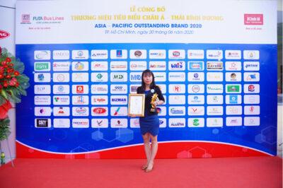 Giabaogroup – Top 10 thương hiệu tiêu biểu Châu Á Thái Bình Dương 2020