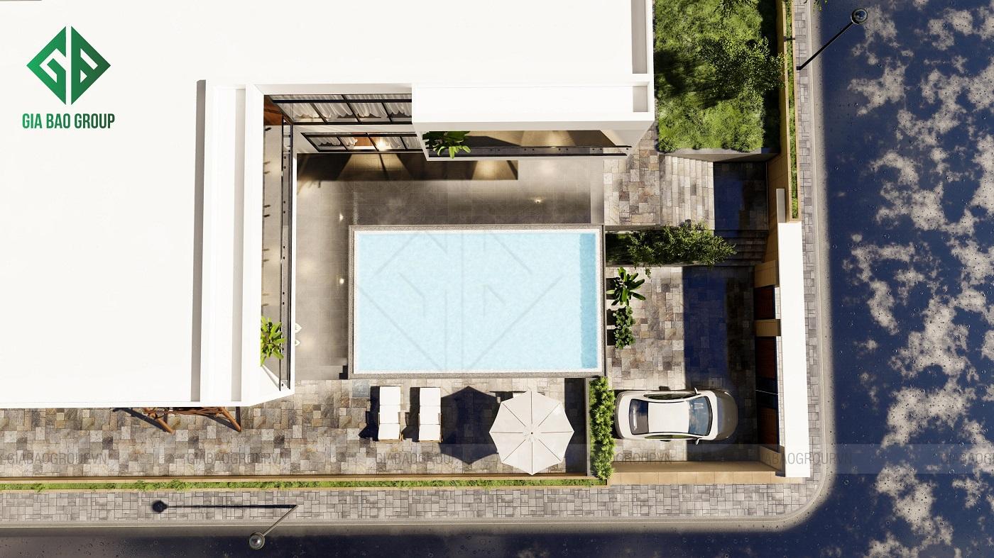 Mẫu Biệt Thự Hiện Đại Không Gian Mở Đẹp - Chú Liêm, Nha Trang