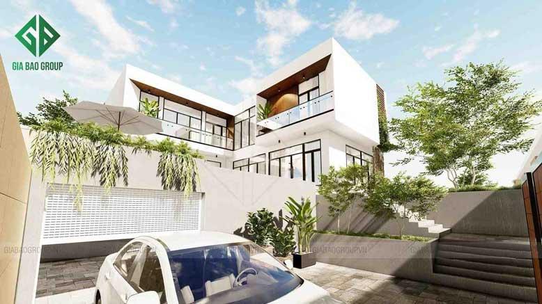 Mẫu biệt thự hiện đại đẹp, không gian mở tại TP Nha Trang